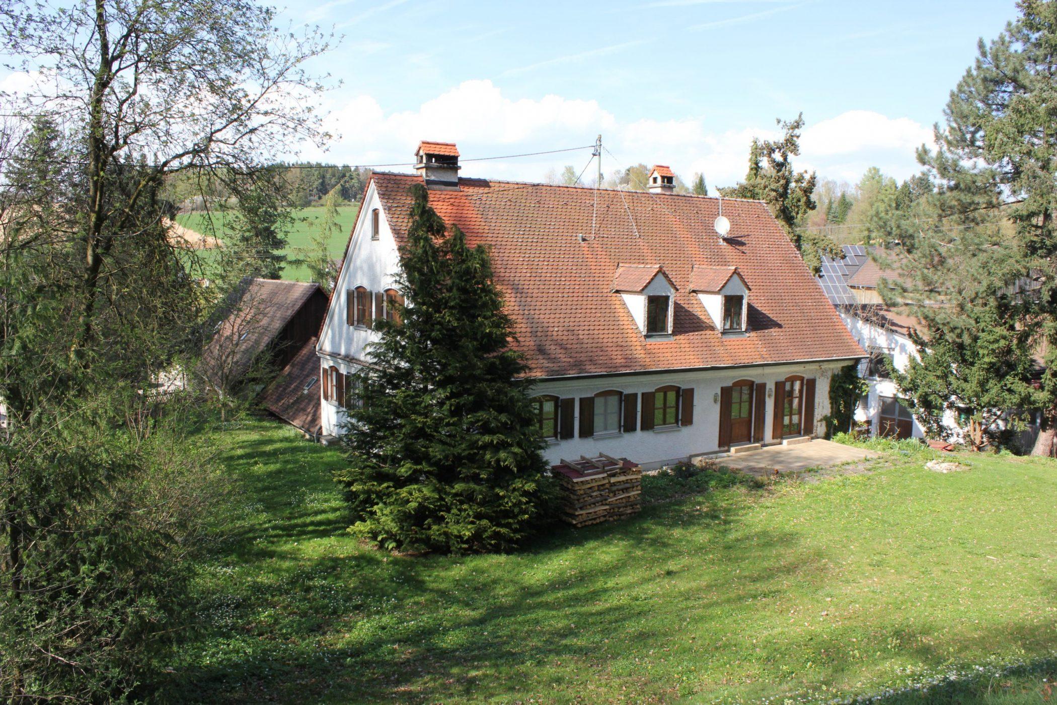 Forsthaus im Landkreis Dillingen * Wohnen und Arbeiten auf dem Lande